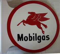 "Mobilgas Flange Sign 12"" Diameter - $60.00"