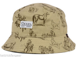 Dickies Western Convo Bucket Style Cap Hat  L/XL - $18.04