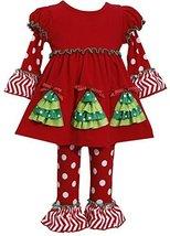 Bonnie Jean Christmas Tree Legging Set 2-4t (3T) [Apparel]