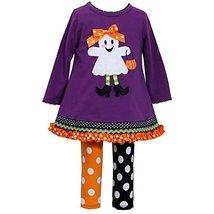 Bonnie Baby-Girls 3M-24M Trick Or Treat Legging Set (18 Months, Purple/Multi) image 1