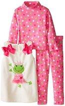 Bonnie Baby-Girls 3M-24M Trick Or Treat Legging Set (18 Months, Purple/Multi) image 2