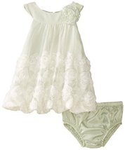 Bonnie Jean Baby-Girls INFANT 12M-24M Bonaz Bubble (18 Months, Sage) [Apparel]