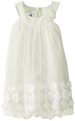 Bonnie Jean Little Girls' Bonaz Bubble Dress, Sage, 6 [Apparel]