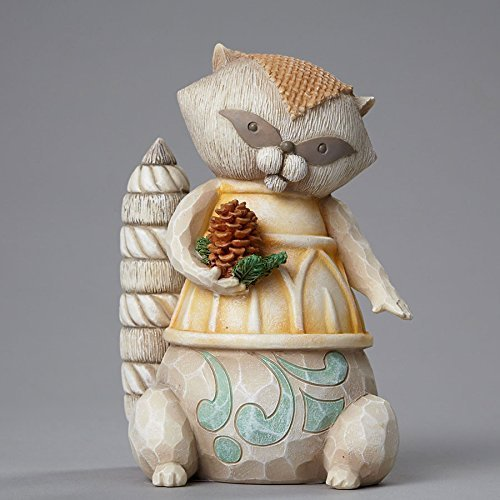 River's End Raccoon with Pinecone, Figurine [Kitchen]