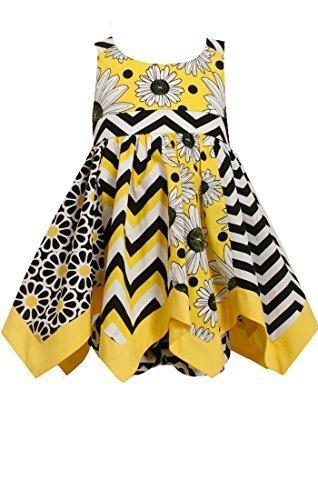 d5948b8acc90 Baby-Girls 3M-24M Yellow Mix Print Hanky Hem and 50 similar items