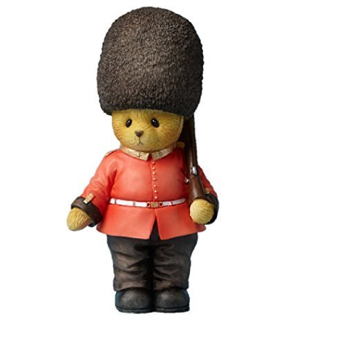 Cherished Teddies Collection Bear Wearing a British Guard Outfit #1 Around th...