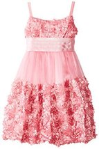 Bonnie Jean Little Girls' Bonaz Bubble Dress, Rose, 6X [Apparel]