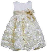 Bonnie Baby Baby-Girls Infant Bonaz Dress (3T, Ivory) [Apparel]