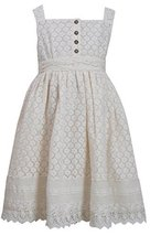 Bonnie Jean Girls Ivory Crotchet Lace Dress (6X) [Apparel] image 2