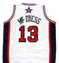 Antonia Mc Dyess #13 Team USA Men Basketball Jersey White Any Size image 2