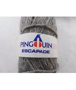 Pinguin Escapade Wool Linen Gray Yarn 1 Skein 1.75oz 50g NEW 833010 - $15.19