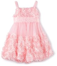 Bonnie Jean Girls 2-6X Bonaz Bubble Dress PK3BU, Pink [Apparel]