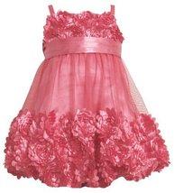 Bonnie Jean Girls 2-6X Bonaz Bubble Dress PK3BU, Pink [Apparel] image 2