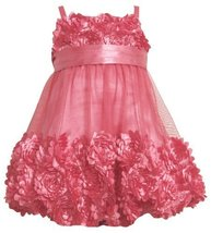 Bonnie Jean Girls 2-6X Bonaz Bubble Dress PK3SA, Pink [Apparel] image 2