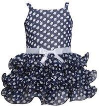Bonnie Jean Little Girls' Dot Chiffon Tier Dress (4T) [Apparel]