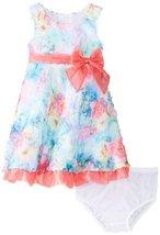 Bonnie Baby Baby-Girls 3M-24M Printed Bonaz Dress (3-6 Months, Fuchsia) image 2