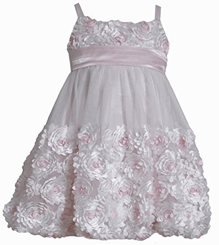 Bonnie Jean Little Girls' Bonaz Bubble Dress (3T) [Apparel]