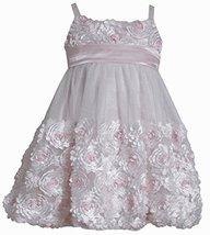 Bonnie Jean Little Girls' Bonaz Bubble Dress (3T) [Apparel]