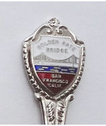 Collector Souvenir Spoon USA California San Francisco Golden Gate Bridge... - $2.99