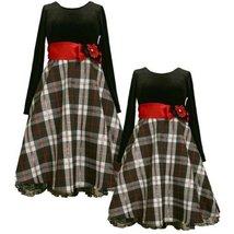 Size-5 BNJ-2336X BLACK WHITE RED METALLIC PLAID STRETCH VELVET Special Occasi...