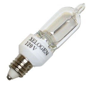 THHC Lighting 11123 - E11-120-75X Screw Base Single Ended Halogen Light Bulb for sale  USA