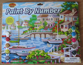 New Seaside View Paint by Number Kit by Creative Kids - $14.00