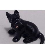 Ceramic miniature black Scottish Terrier Scotty dog - $39.99