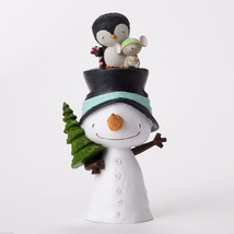 Stacey Yacula Snowman and Friends Figurine New in Box