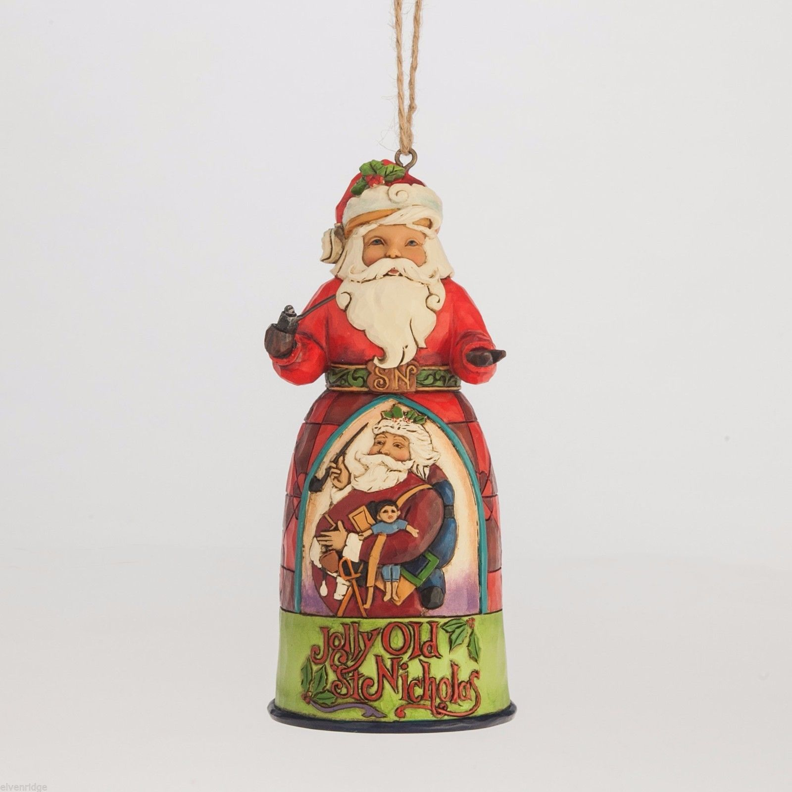 Jim Shore Hanging Ornament Jolly Old St. Nicholas New in Box