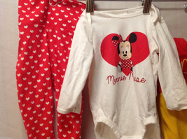 H&M Baby POOH BEAR and MINNIE Mouse DISNEY Outfits 100% Cotton, Size 3-6 Months image 2