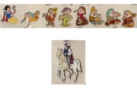 Disney  Snow White and 7 Dwarfs 9 pro pins from Germany  Dopey Doc Princ... - $155.00