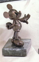Disney Mickey Mouse Bronze LE Chilmark Limited Edition of 75 Orignial box - $651.32