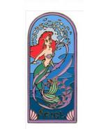 Ariel Art Nouvea Authentic Disney Little Mermaid Auction LE 500 Pin no card - $243.00
