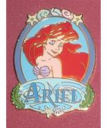 Ariel  Princess Portrait Authentic DL Disney Little Mermaid Pin No card - $49.99