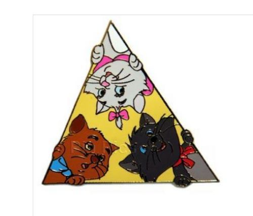 Toulouse Berlioz Marie Authentic Disney Aristocats Auction Peek-a-Boo Le 500 Pin