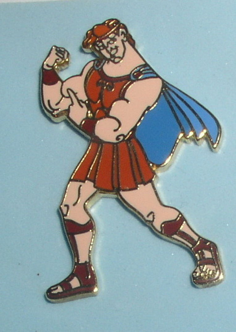 Primary image for Hercules Standing full body WDW Authentic Hercules Disney no Card on Pin