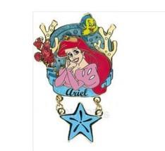Ariel Flounder Sebastian 3d Dangle Authentic Disney Little Mermaid LE Pi... - $79.00