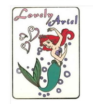 Ariel full body Authentic Disney Little Mermaid Auction LE 500 Pin on card - $139.00