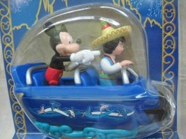 Magic Kingdom SMALL WORLD Mickey Disney Diecast Metal WDW ride Mint - $67.71