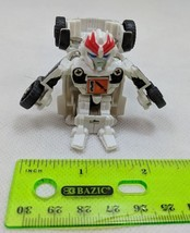 Transformers Bot Shots Battle Game PROWL White Car Robot - $5.00