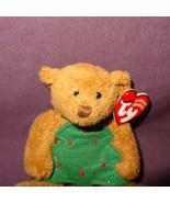 Jingle Beanies Bear Twinkling Christmas Ty Plush Stuffed Animal Toy 2005... - $9.99