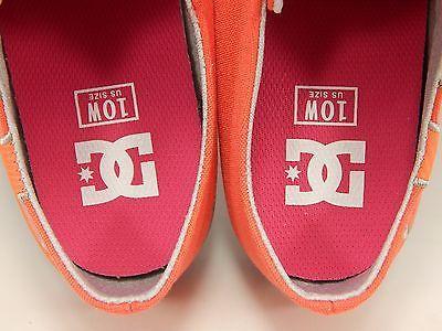 DC Cleo Low Top Women's Skate Shoes Size US 10 M (B) EU 42 Pink White
