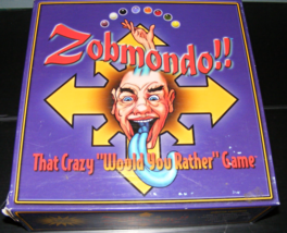 1998 Zobmondo That Crazy Would You Rather Board Game - $40.00
