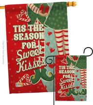 Season Sweet Kisses - Impressions Decorative Flags Set S114199-BO - $57.97