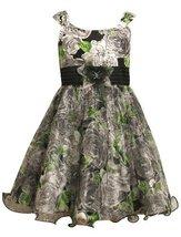 Size-5, Multi, BNJ-7894R Sleeveless Floral Print Mesh Shantung Dress ,R37894 ...