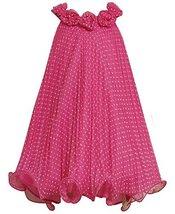 Bonnie Jean Little Girls Dot Crystal Pleat Dress (6, Fuchsia) [Apparel]
