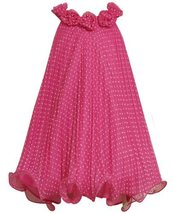 Bonnie Jean Little Girls Dot Crystal Pleat Dress (6X, Fuchsia) [Apparel] image 2