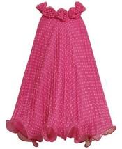 Bonnie Jean Girls 7-16 Dot Crystal Pleat Dress (8, Fuchsia) [Apparel]
