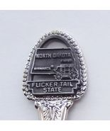 Collector Souvenir Spoon USA North Dakota Flick... - $2.99