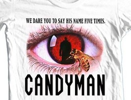 Candyman T-shirt retro 80's horror movie 80s slasher films cotton graphic tee image 2
